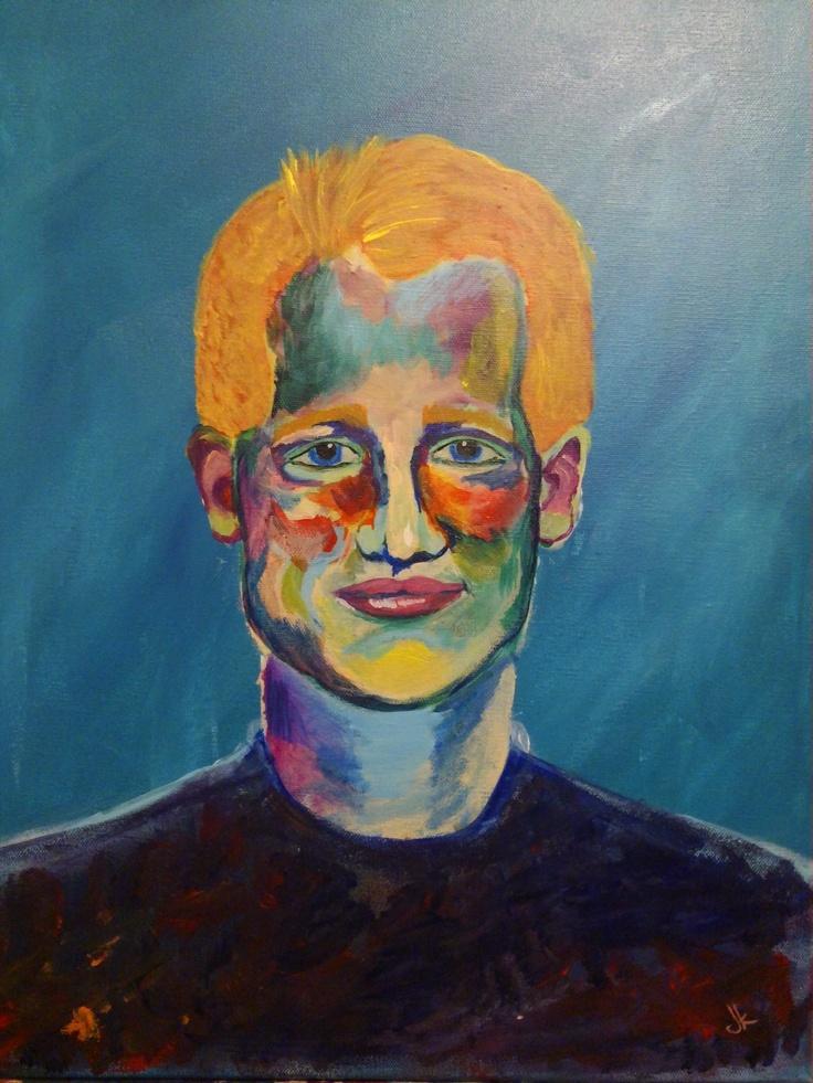 My most recent portrait art pinterest