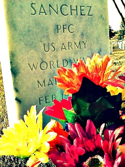 Veterans cemetery.