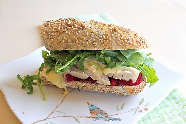 Turkey, Cranberry and Brie Sandwich | Something Yummy! | Pinterest