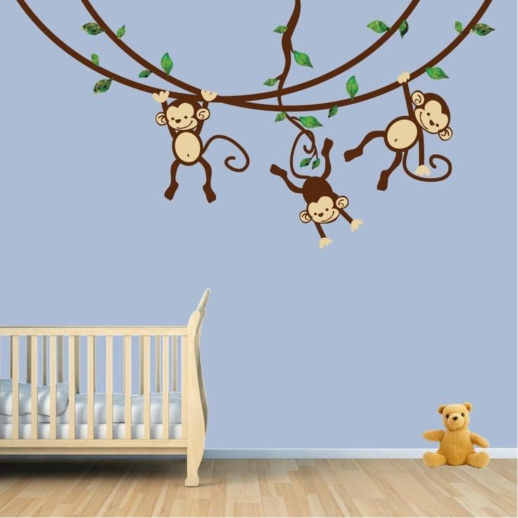 monkey wall decal
