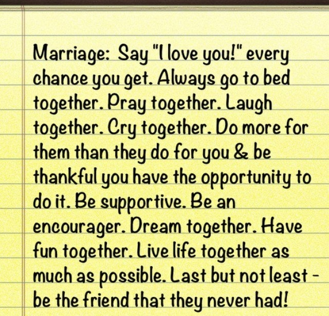 Funny Marriage Advice Quotes Best Marriage Advice Q...