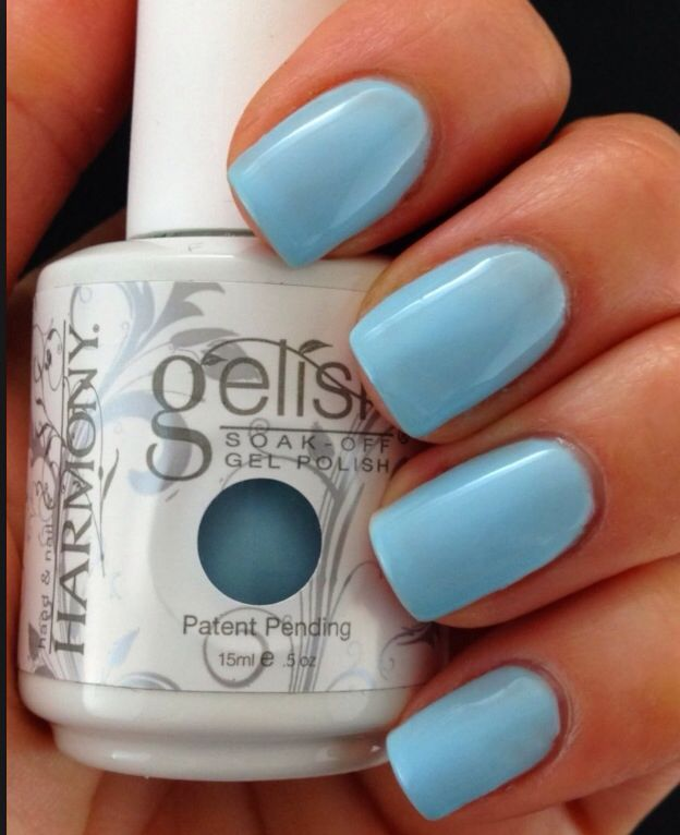 My one blue love - Gelish: for my next ...