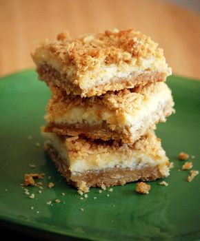 Lime Coconut Crumble Bars. These are my favorite go-to summer dessert.