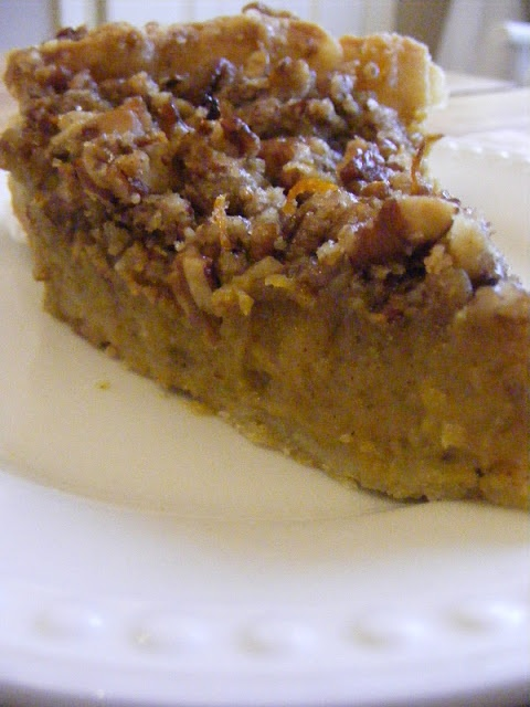 Maple Pecan Pumpkin Pie!!! (These types of recipes *might* be the ...