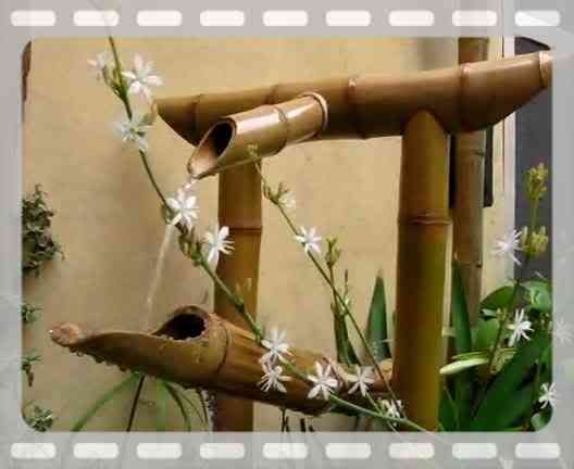Shishi odoshi design learn all about japanese bamboo fountain shishi - Shishi odoshi bamboo water feature ...