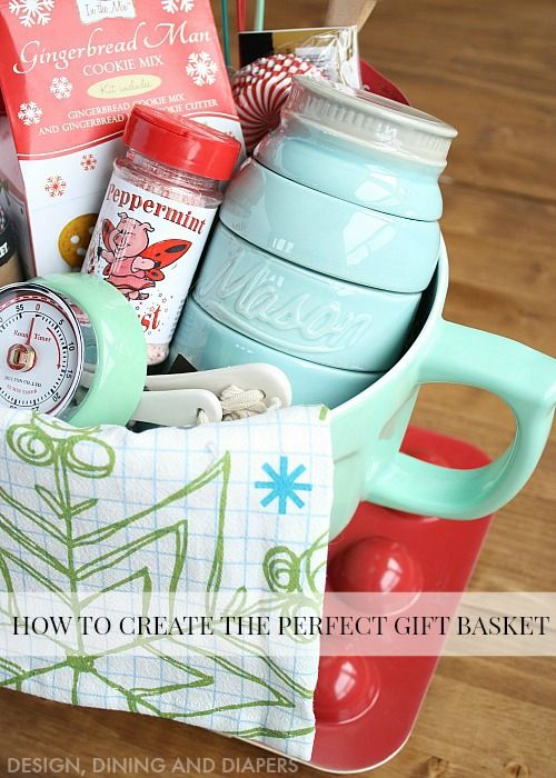 How To Create The Perfect Gift Basket + Free Printable  #sharethejoy_WM