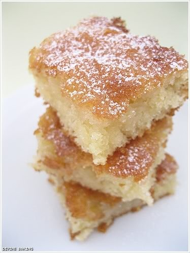 Gooey Butter Cake. I will do this one day. Maybe our first anniversary ...