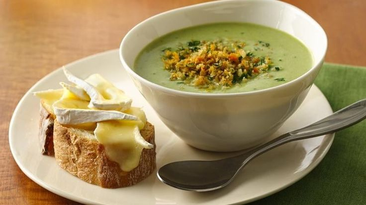 Creamy and delicious describe this fresh asparagus soup blended with ...