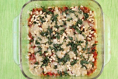 Vegetable Matter: Swiss Chard Rib Gratin with Pine Nuts and Parmesan