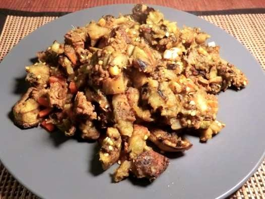 HEALTHY SWEET AND SOUR EGGPLANT | food | Pinterest