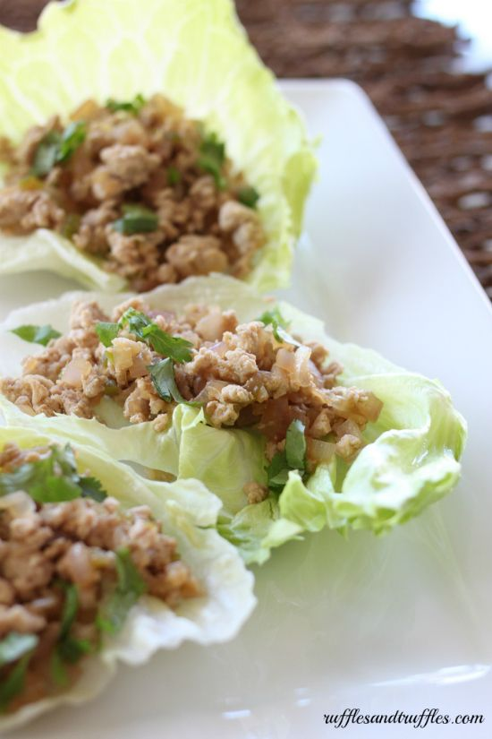 Thai Larb lettuce cups. | Food | Pinterest