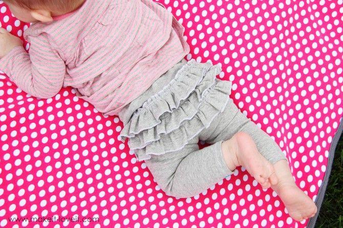 toddler rufflebutt pants? how adorable!