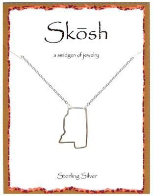 Engravables - Silver Mississippi Necklace by Skosh, $32.99 (http://www ...