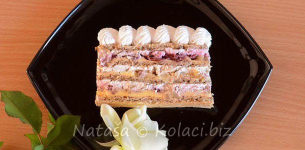 moskva torta | VIŠNJE,TREŠNJE | Pinterest