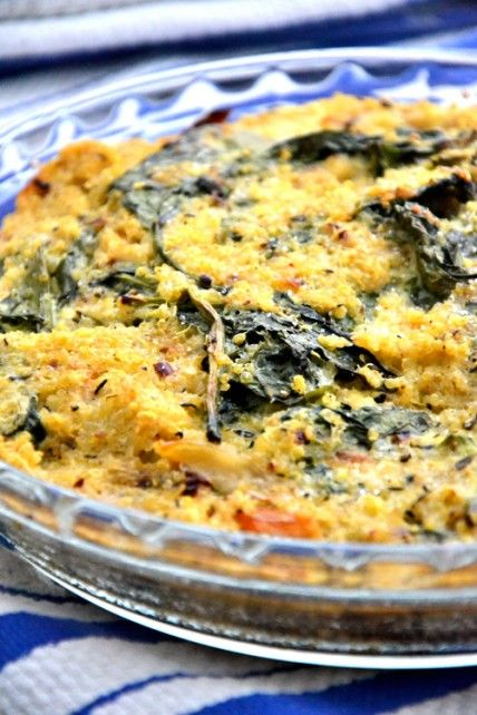 Quinoa-Spinach-Bake-Recipe1 | fun food | Pinterest