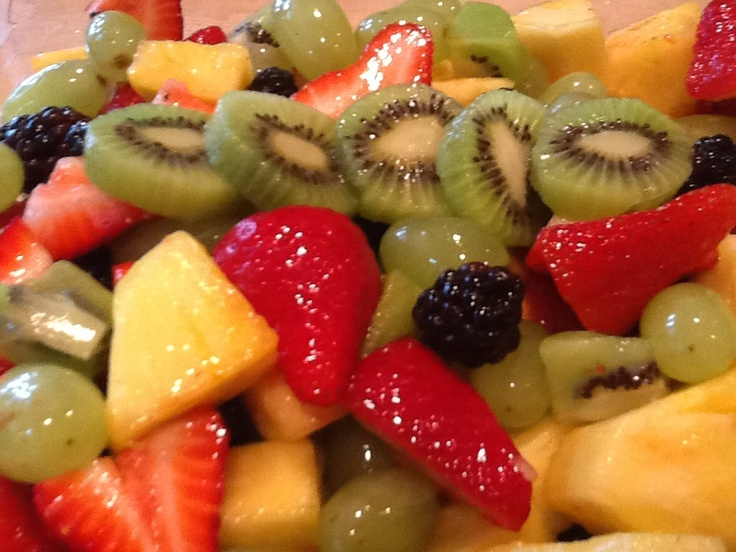 Fruit Salad with Honey and Lime Dressing | Cooking - Fruits | Pintere ...
