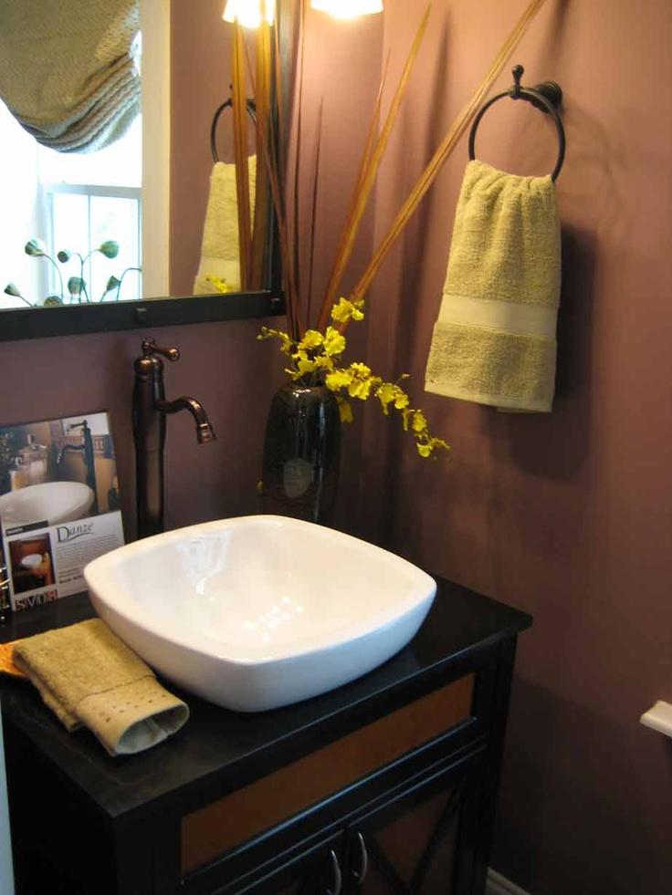 Above The Counter Sinks : above the counter sink Bathroom ideas Pinterest