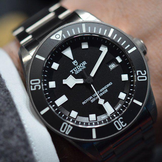 Tudor pelagos titanium dive watch clothes pinterest - Tudor dive watch ...