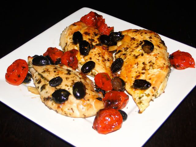 Chicken Breast With Tomatoes And Olives | Live Long | Pinterest