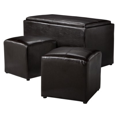 Looks so comfortable and matches the couch and rug. $129.99
