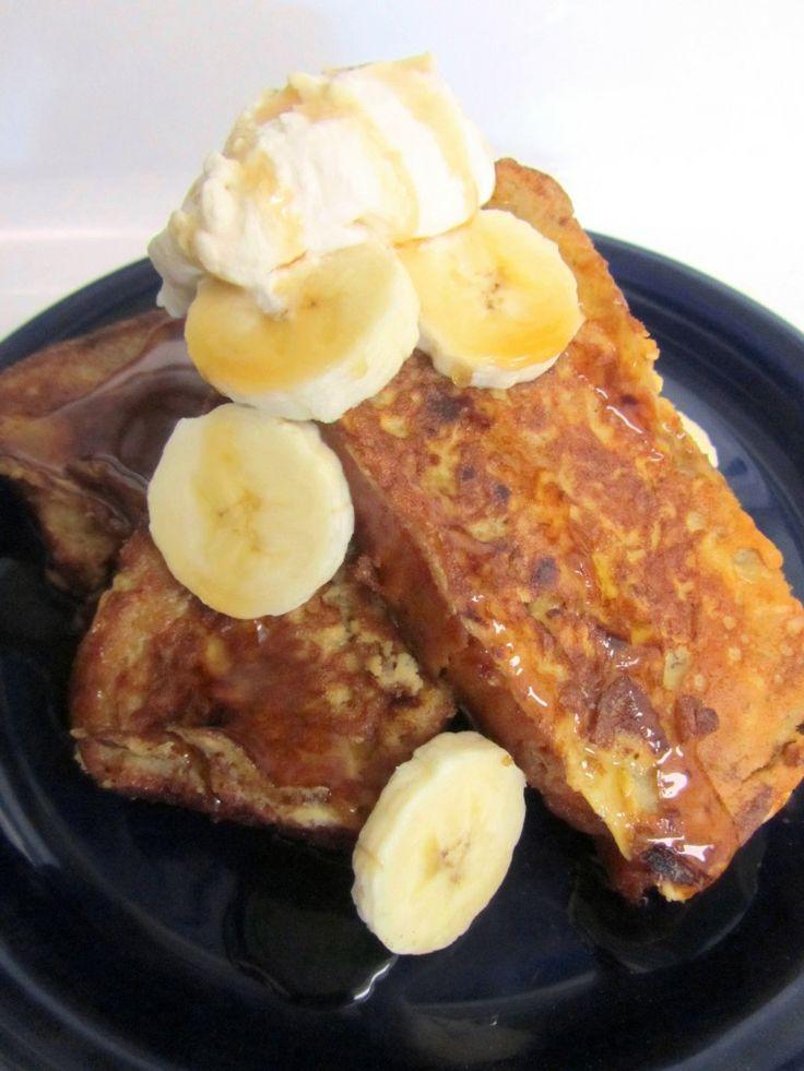 Banana Bread French Toast | Breakfast Recipes | Pinterest