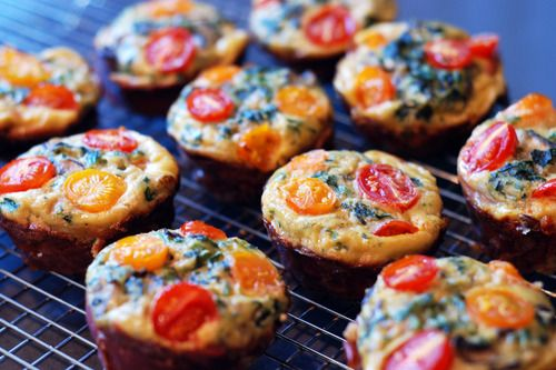 Prosciutto-Wrapped Mini Frittata Muffins | food stuffs | Pinterest