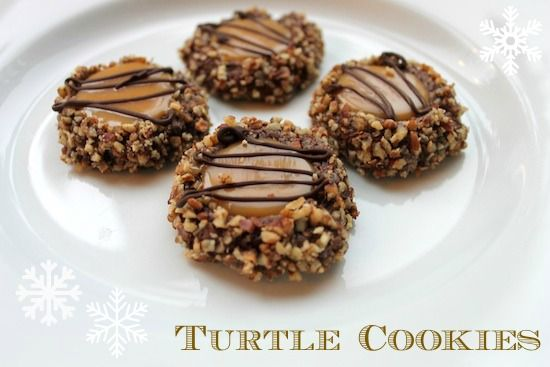 Turtle Cookies - easier to make and look beautiful! Perfect for ...