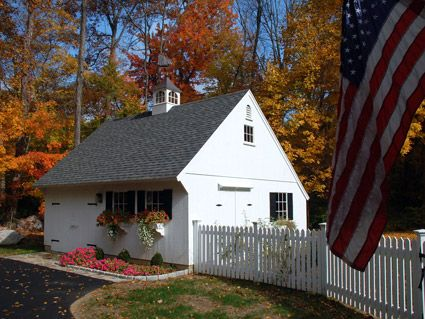 Post And Beam Saltbox Carriage House Tiny Houses Pinterest
