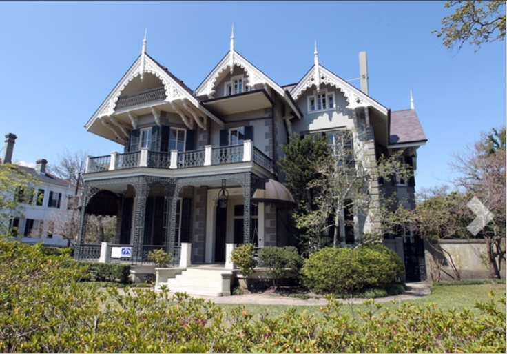 Gothic Victorian Mansion In New Orleans Dream Homes