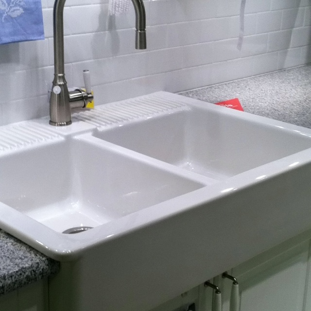 Ikea Grundtal Cutlery Caddy ~ Love this farmhouse sink @ Ikea  For the Home  Pinterest