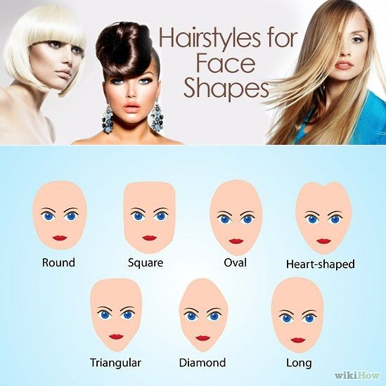 Choose Hairstyle According to Face Shape BEAUTY Tips Pinterest