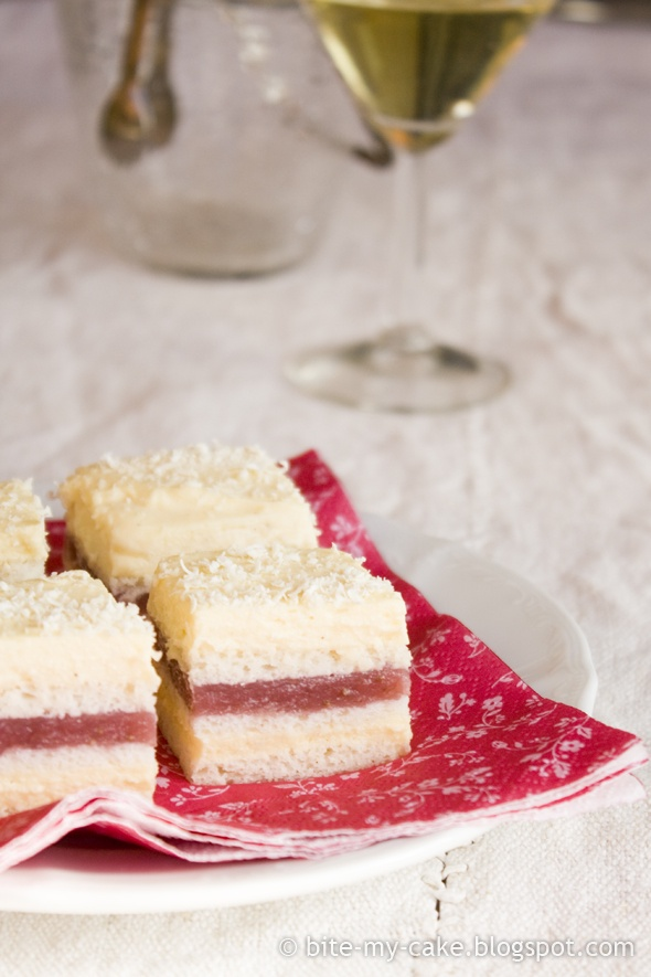 Strawberry Vanilla Cake Bites Recipe — Dishmaps