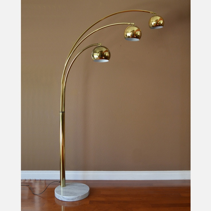 brass arc floor lamp. Black Bedroom Furniture Sets. Home Design Ideas