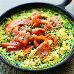... onion pesto salmon and asparagus frittata salmon sausage frittata