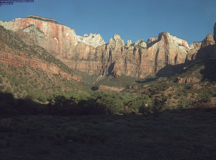 Zion National Park Webcam 75