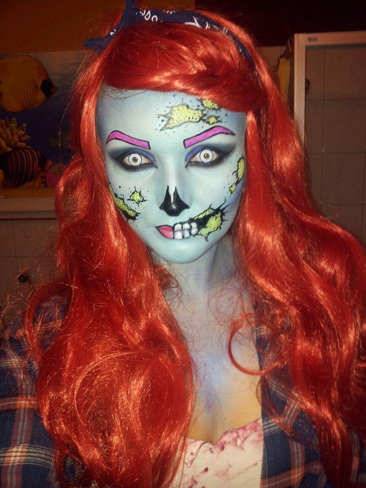 Download Pop Art Zombie MakeupPop Art Zombie Makeup