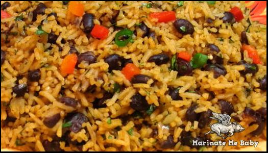 Moros y Cristianos ( Red Beans and Rice Cuban Style!)