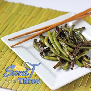 Chinese Restaurant Style Green Beans - from SweetTMakesThree