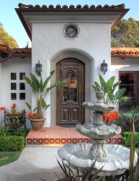 Spanish Colonial Revival | Home Decorating | Pinterest