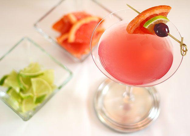 Grapefruit, Lime and Maraschino Martini | Recipe