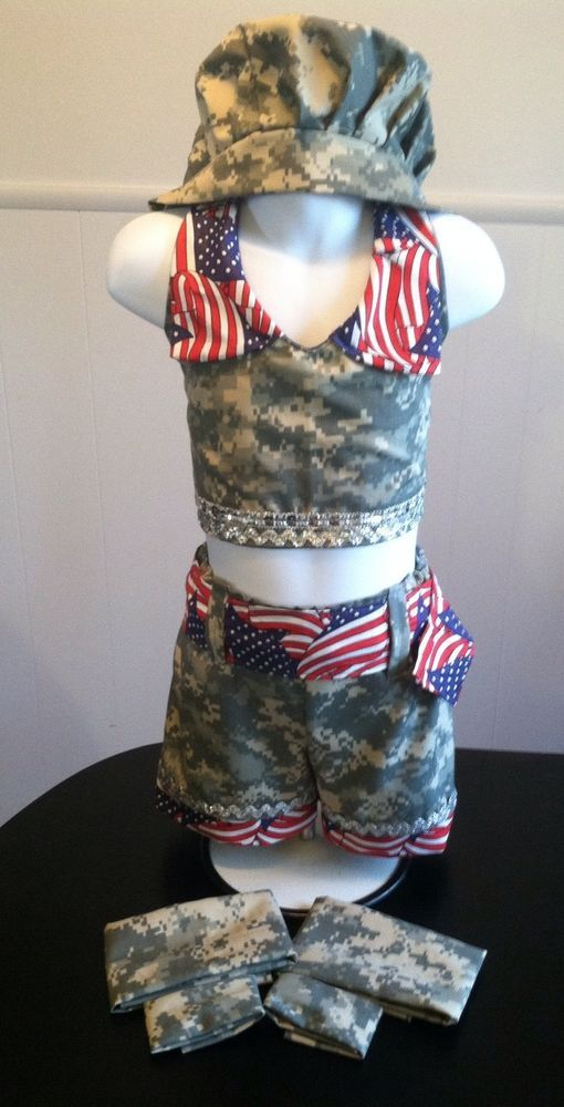 National pageant dress ooc pageant patriotic casual wear 3 5t