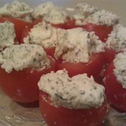 Cherry Tomatoes Filled with Goat Cheese Allrecipes.com