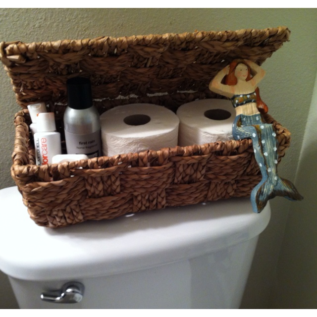 Guest Bathroom Amenities Basket House Pinterest