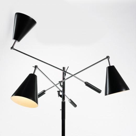 arredoluce three arm floor lamp all design pinterest. Black Bedroom Furniture Sets. Home Design Ideas