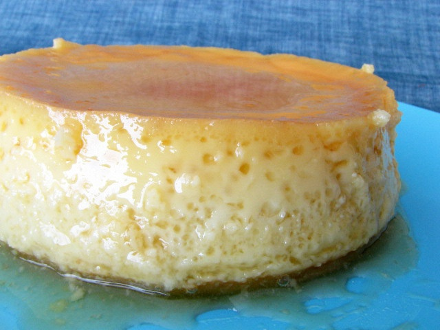 Coconut Cream Flan - Taste and Tell (Dessert Vegetarian Dairy Egg ...