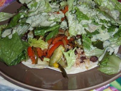 chipotle roasted vegetable salad...must try. via Skinny Bovine's ...
