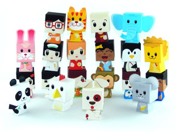20 FREE printable paper toys ♡ | paper TOY printables | Pinterest