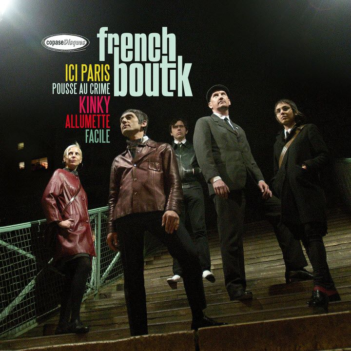French boutik s new ep ici paris available as double 7 release cd