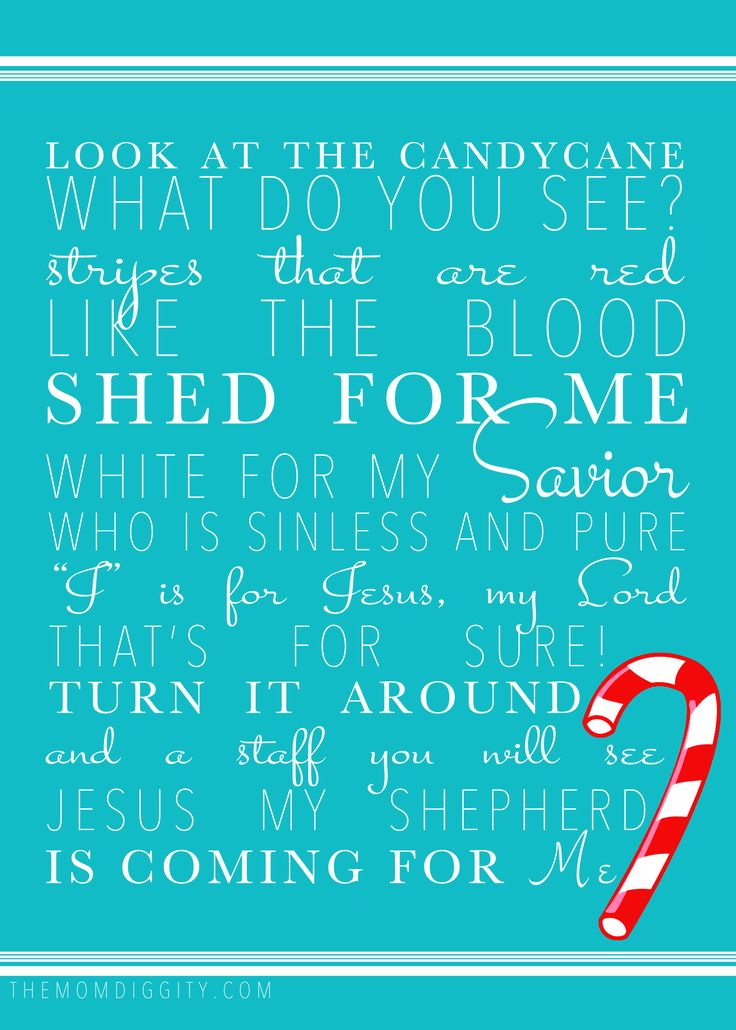 The meaning of the candy cane: a toddler activity and free coloring ...