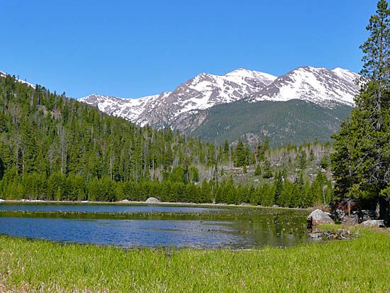 Cub Lake (8,624') trail for summer hiking...been there, done that!
